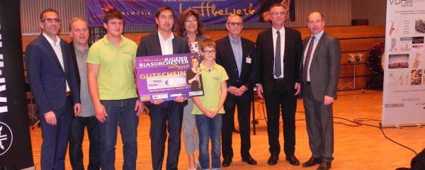 85,6 Punkte beim Jungendblasorchester Wettbewerb 2017