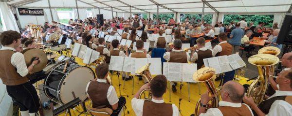 Musikalische Umrahmung Klosterfest Frühschoppen