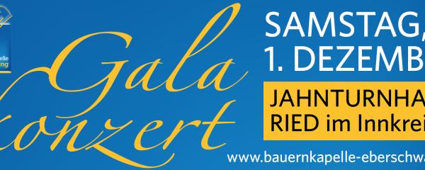 Einladung zur Galanacht der Blasmusik