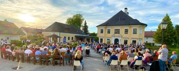 Sommerkonzert beim Pfarrhof Eberschwang